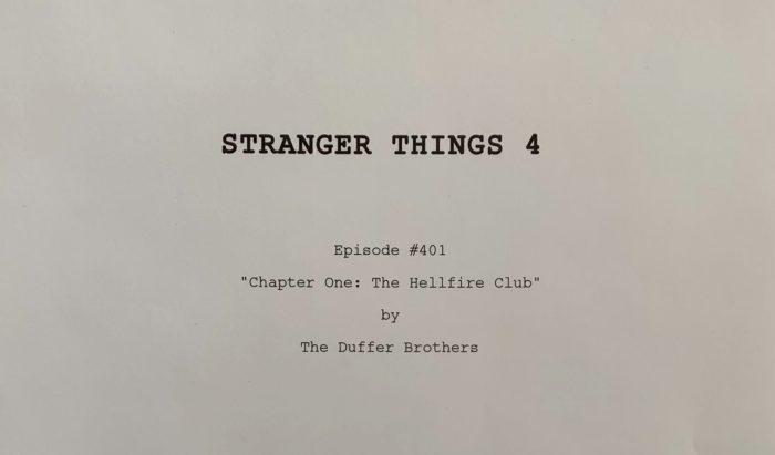 Stranger Things Season 4 episode title revealed