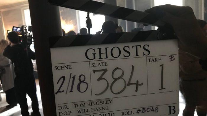 Filming starts on Ghosts Season 2