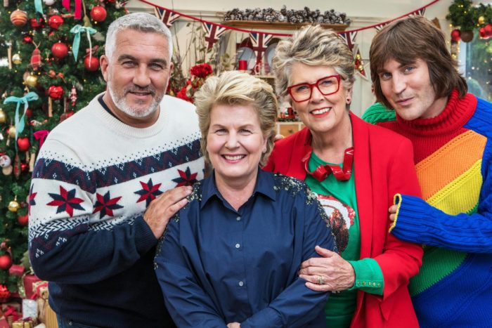 Derry Girls head to Bake Off tent for festive special
