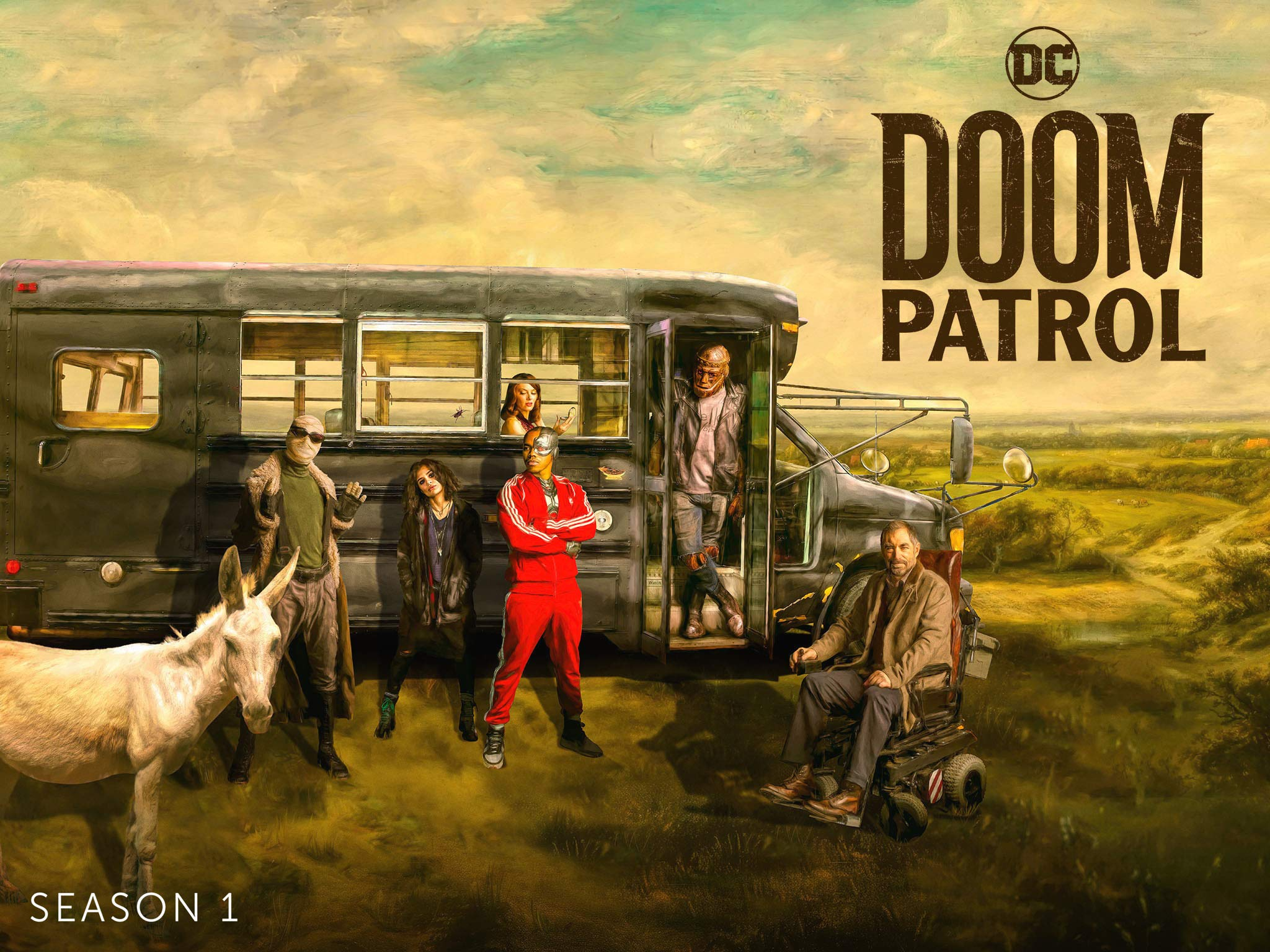 Starzplay Tv Review Doom Patrol Season 1 Vodzilla Co Where To Watch Online In Uk