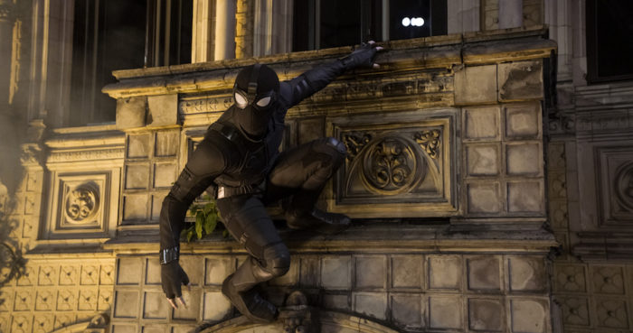 Spider-Man: Far From Home swings to Number 1 in UK Film Chart