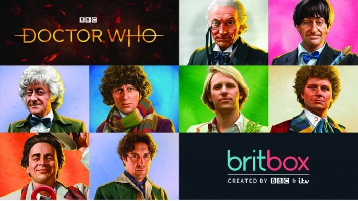 Doctor Who Classic most-watched on BritBox this Christmas