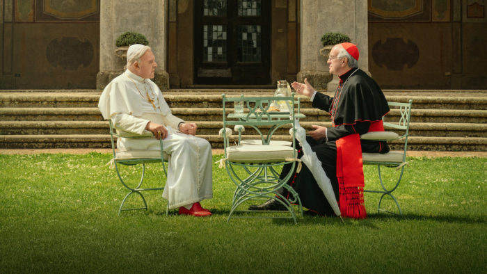 Which UK cinemas are showing The Two Popes?