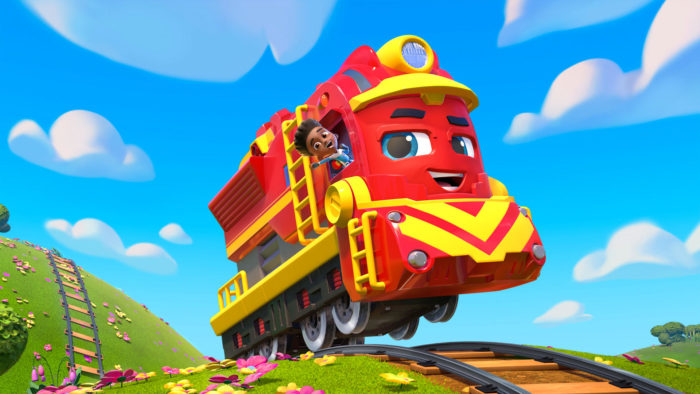 Netflix and makers of PAW Patrol board Mighty Express