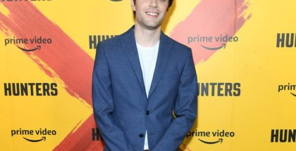David Weil at the premiere of Amazon's Hunters