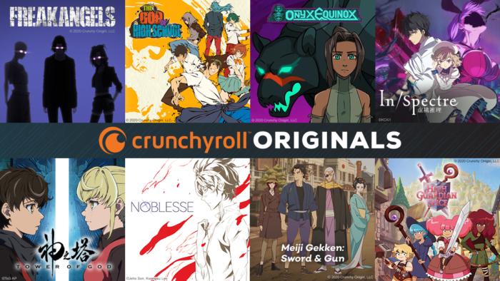 Crunchyroll announces first slate of original anime