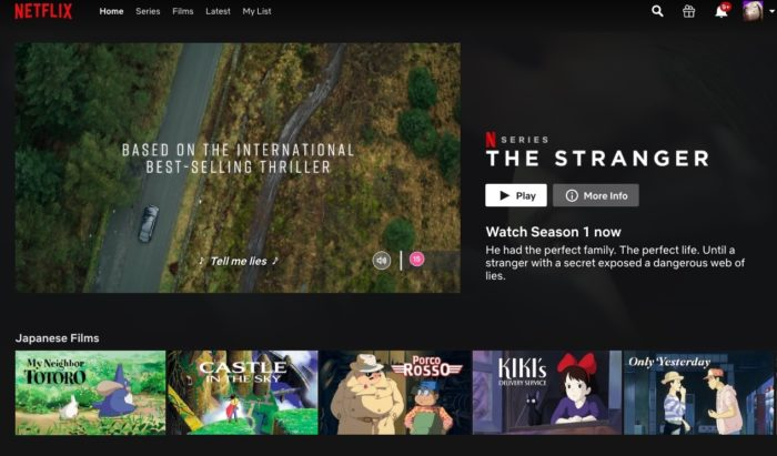 Netflix now lets you turn off autoplay previews while browsing