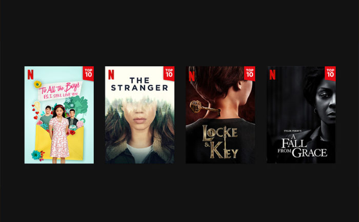 Netflix rolls out daily showcase of 10 most popular titles
