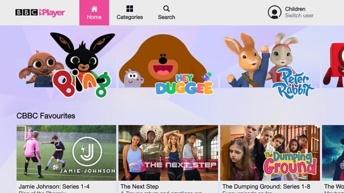 BBC launches children's iPlayer for family viewing