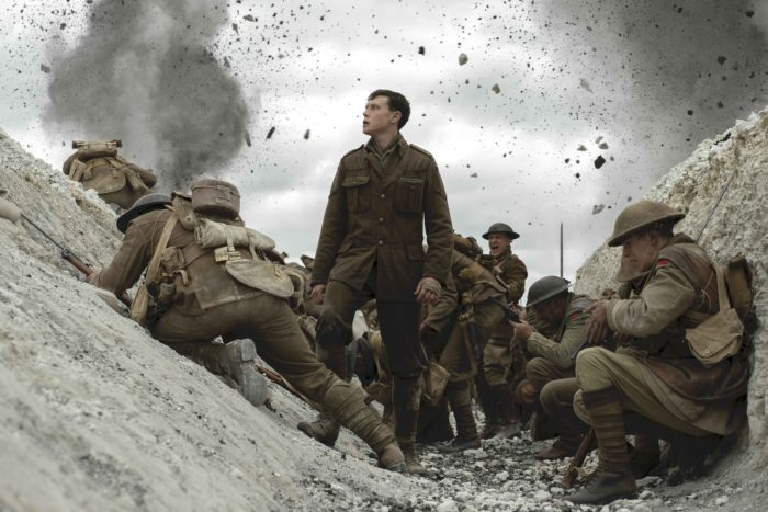 1917 battles back to top of UK Film Chart
