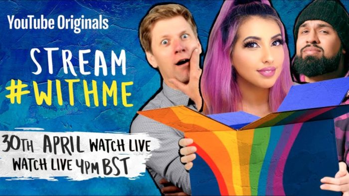 Stream #WithMe: YouTube creators join together for live-stream special