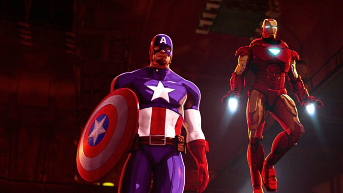 Superhero Sundays: Iron Man and Captain America: Heroes United