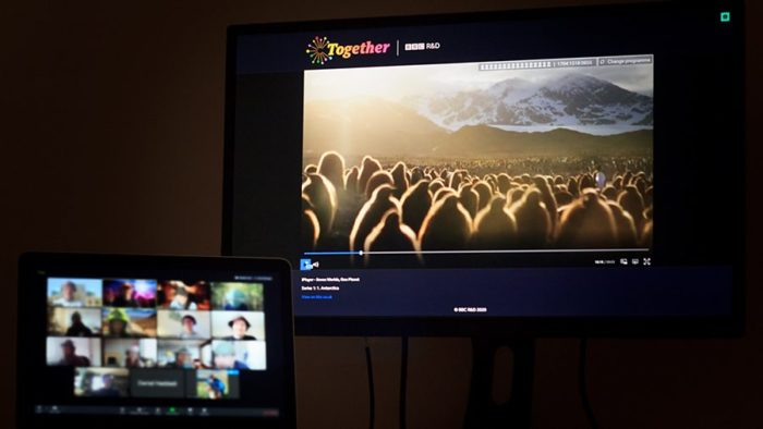 BBC Together: BBC trials new way to watch programmes with others