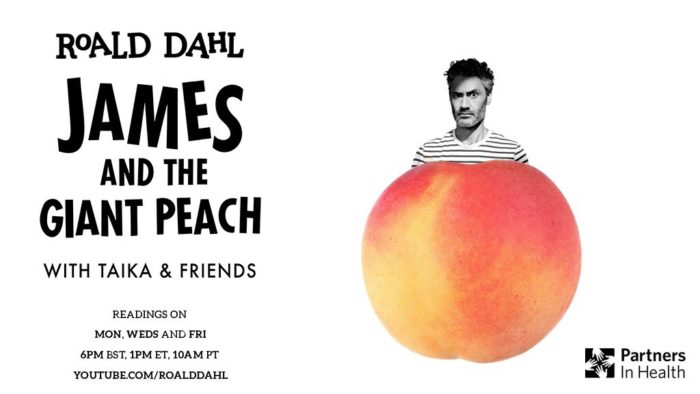 Taika Waititi leads star-studded online read of James and the Giant Peach