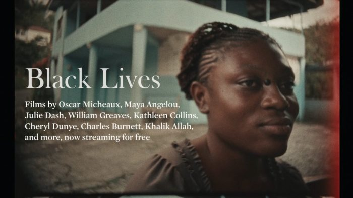 Criterion Channel releases free films focusing on Black lives
