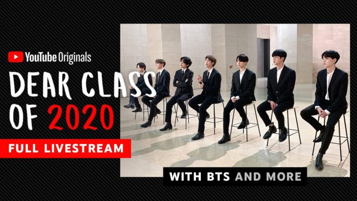 YouTube's Dear Class of 2020 most-viewed YouTube live original
