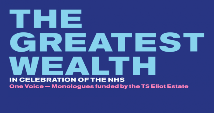 The Greatest Wealth: Old Vic streams monologues to celebrate NHS