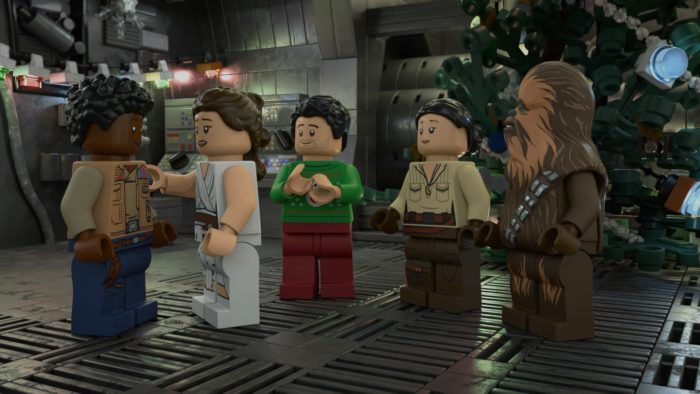 Kelly Marie Tran, Billy Dee Williams and Anthony Daniels join LEGO Star Wars Holiday Special