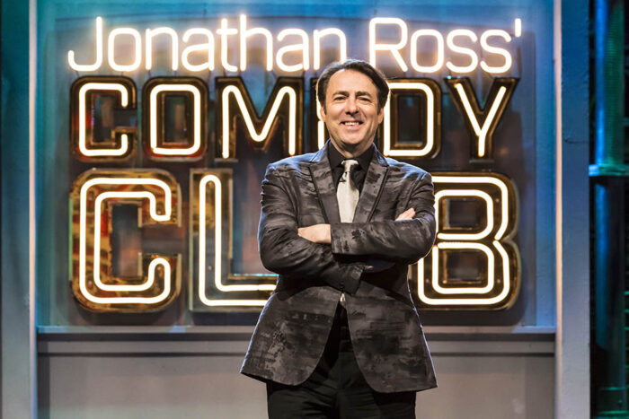 Catch up TV review: Jonathan Ross' Comedy Club, James Nesbitt: A Game of Two Halves, All Creatures Great and Small