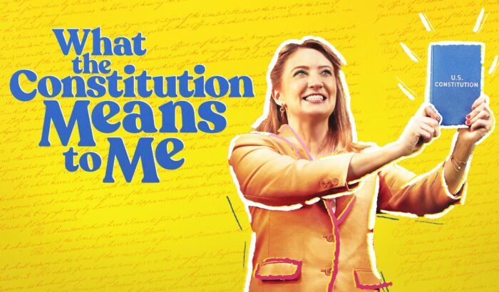 Digital theatre review: What the Constitution Means to Me