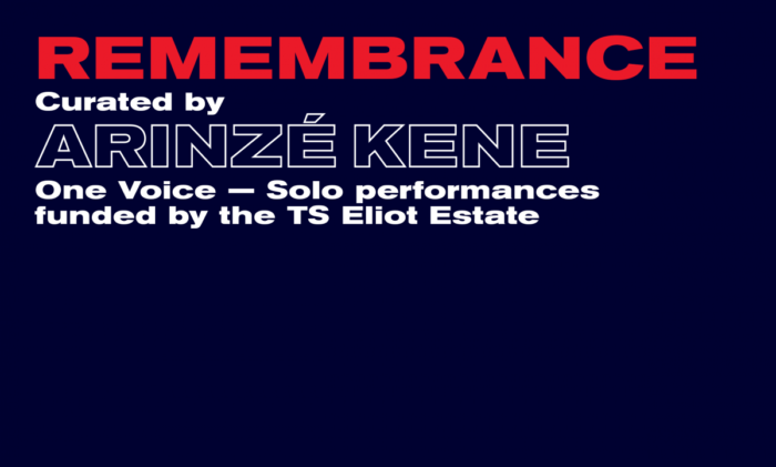 One Voice: Remembrance: Old Vic Theatre streams short monologues