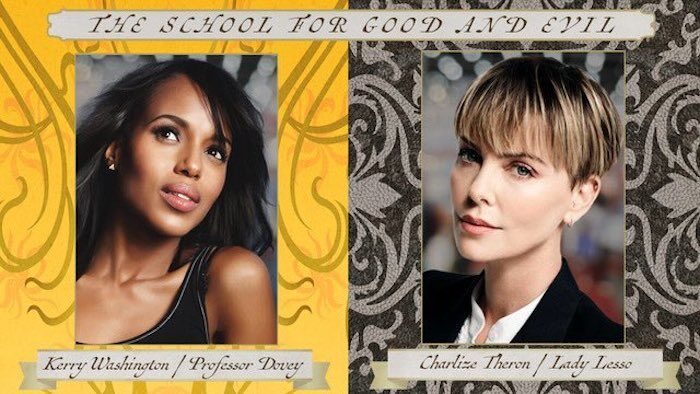 Kerry Washington and Charlize Theron join Netflix's School for Good and Evil