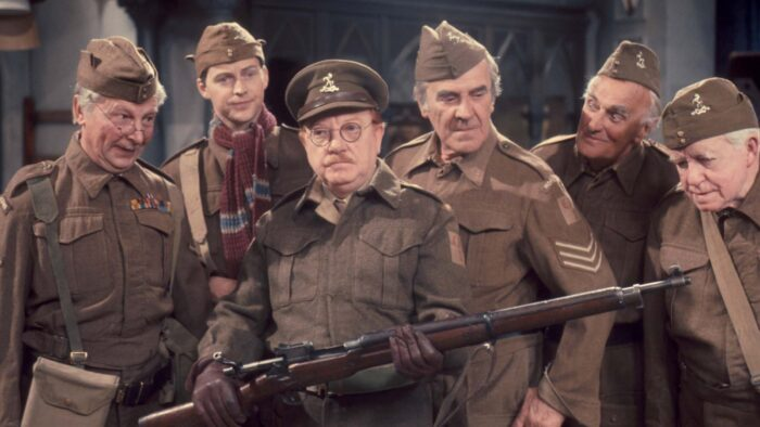 Dad's Army leads BritBox Christmas streaming