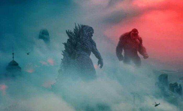 Godzilla vs Kong stomps into top spot on UK Official Film Chart