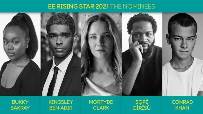 BAFTA unveils 2021 Rising Star Award nominees