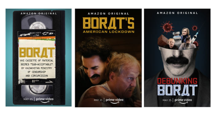 Trailer: Amazon to unveil Borat Supplemental Reportings this May