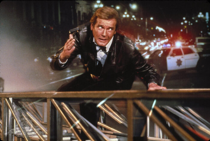 A View to a Kill: Roger Moore gets old